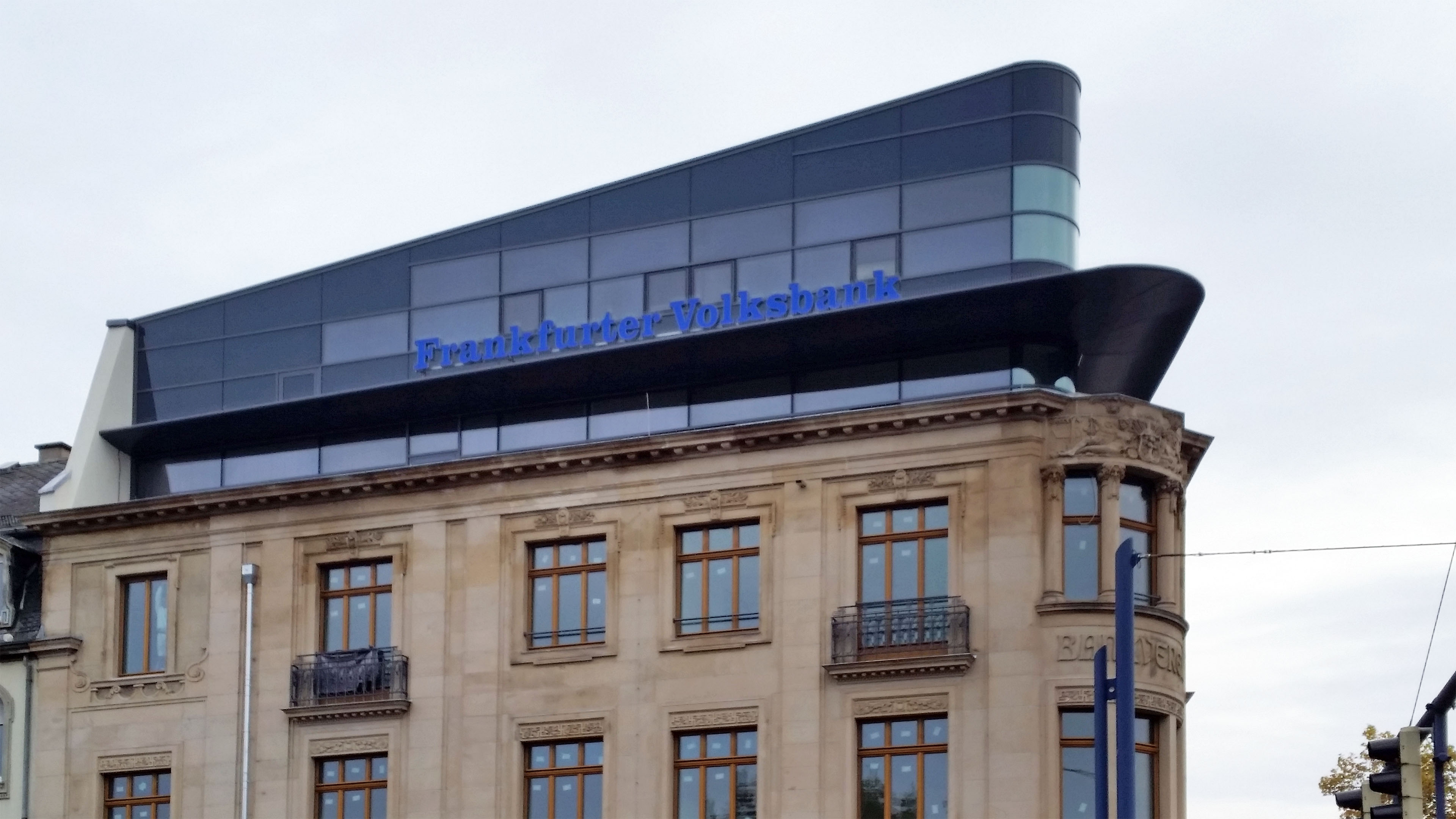 Volksbank Offenbach Dachgeschoss