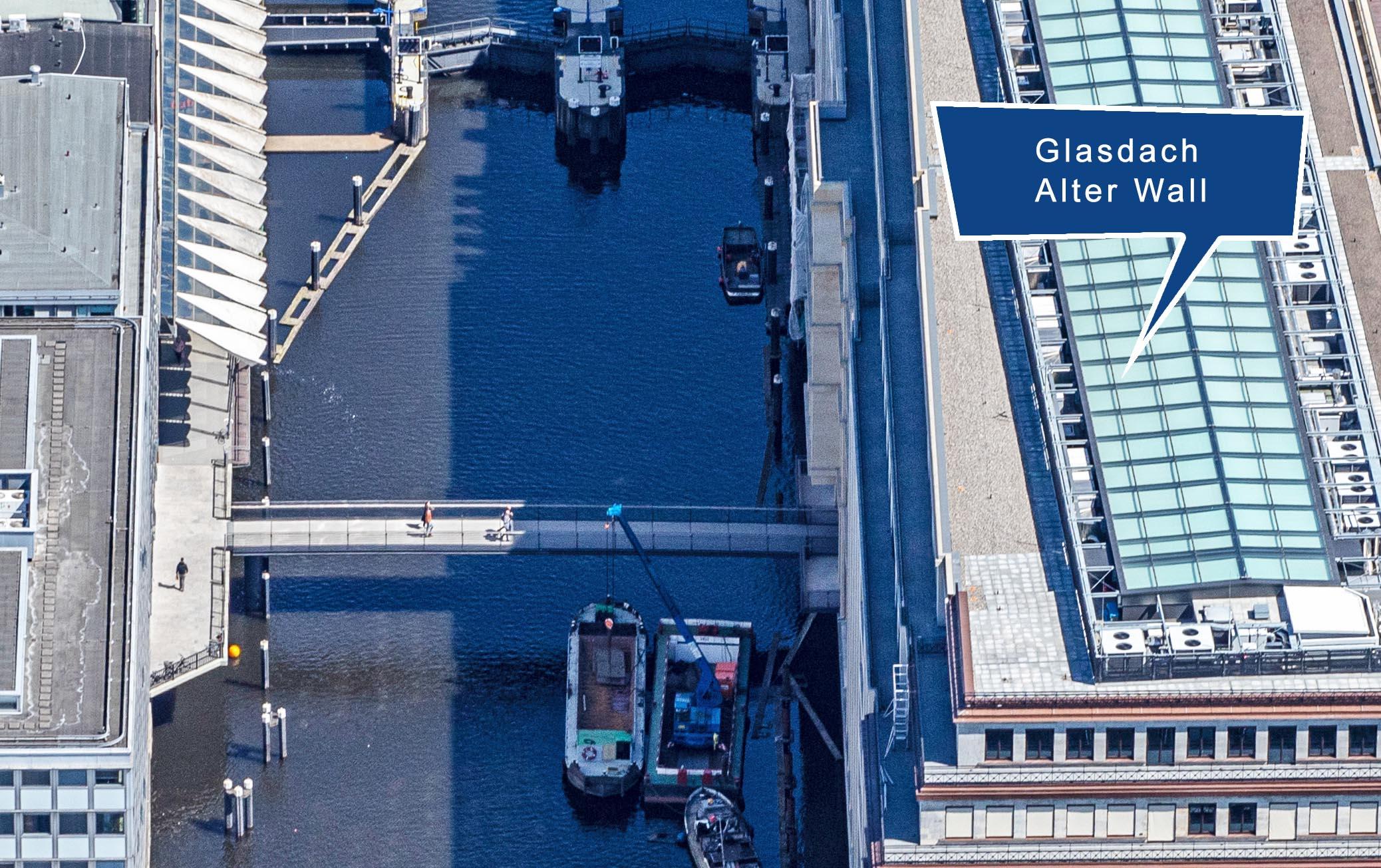 Link zu Glasdach Alter Wall Hamburg