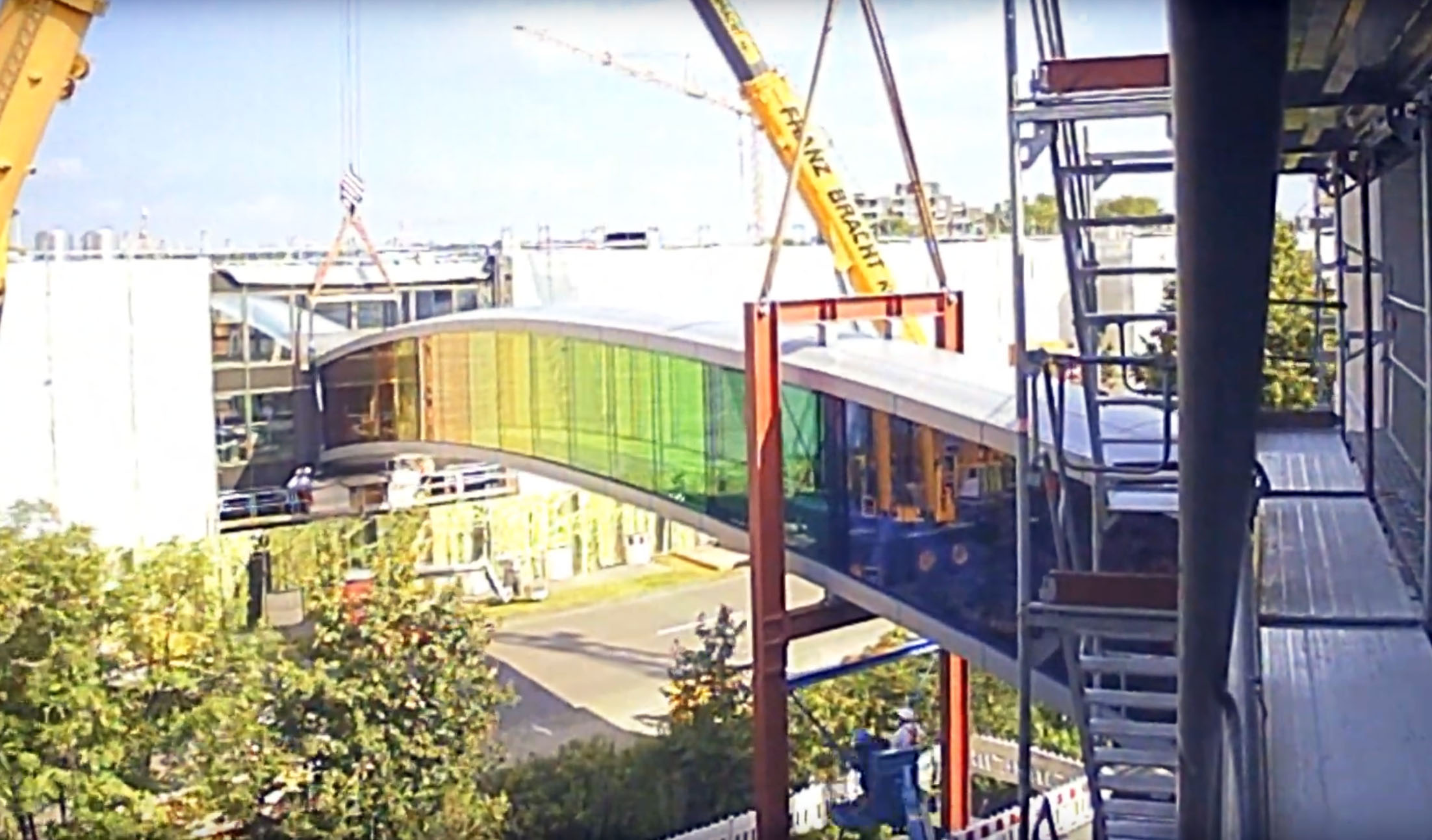 Verbindungsbrücke Youtube Screenshot Münster