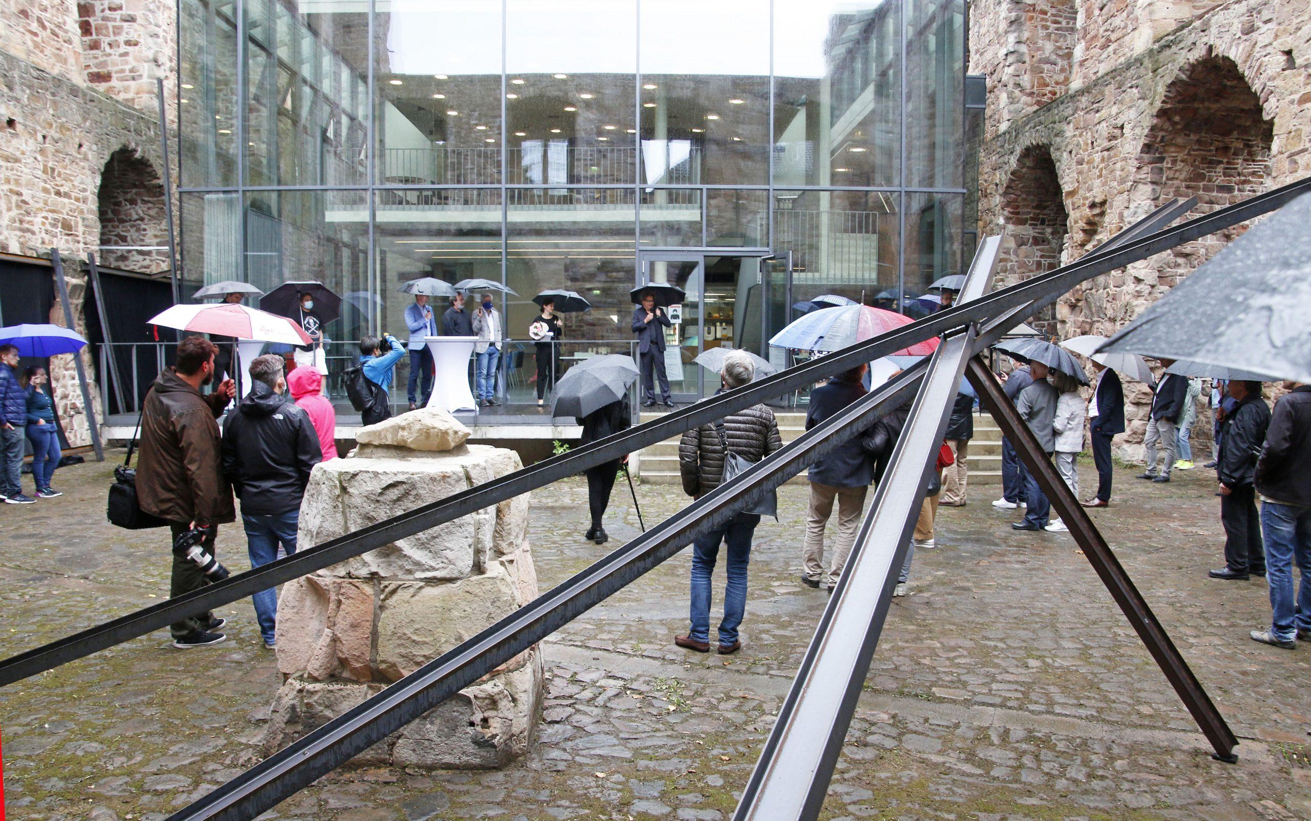 Otto Fischer Arsenal Kassel Kunstwerk Art