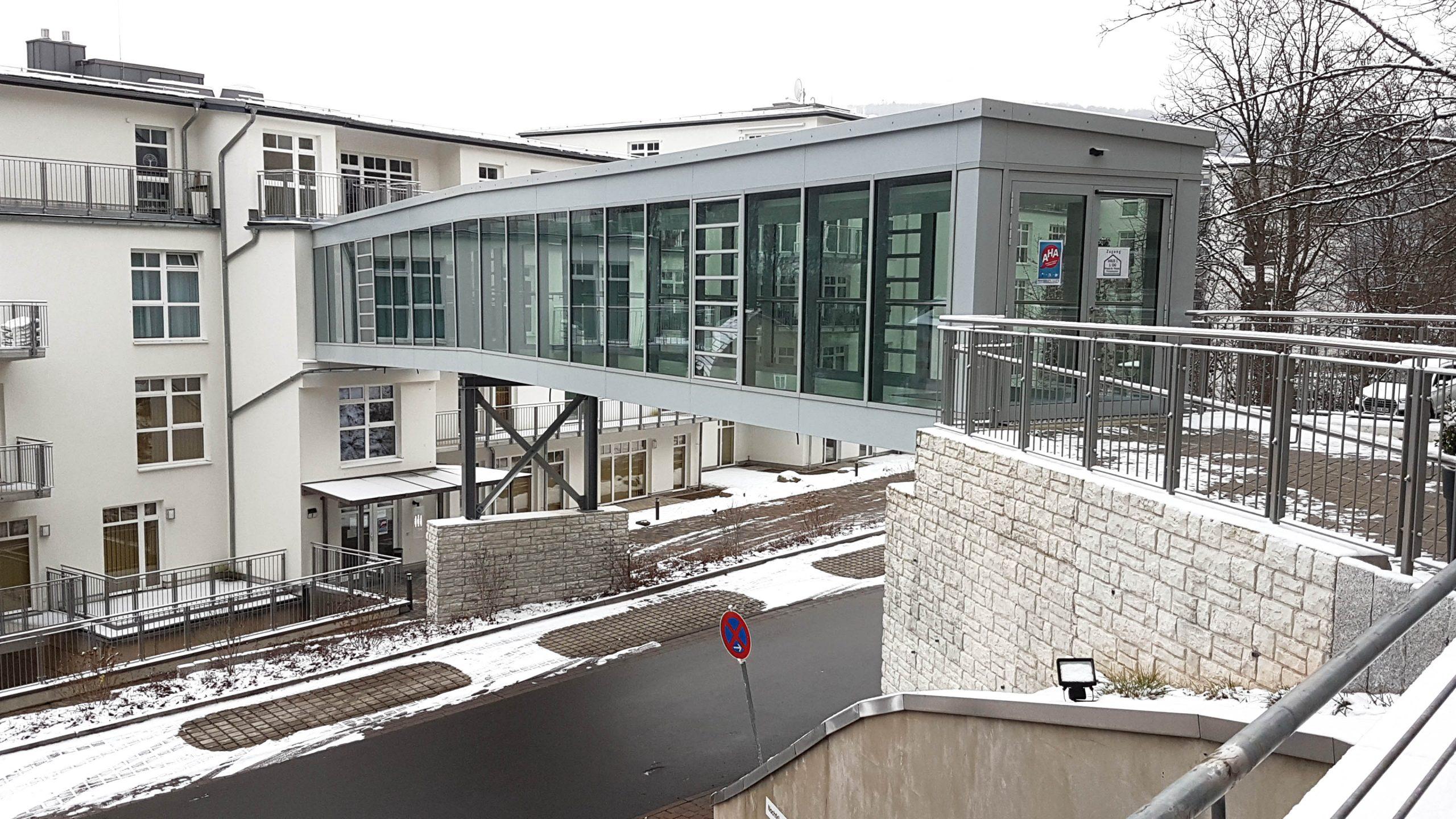 Helsa Verbindungsbrücke Seiniorenheim