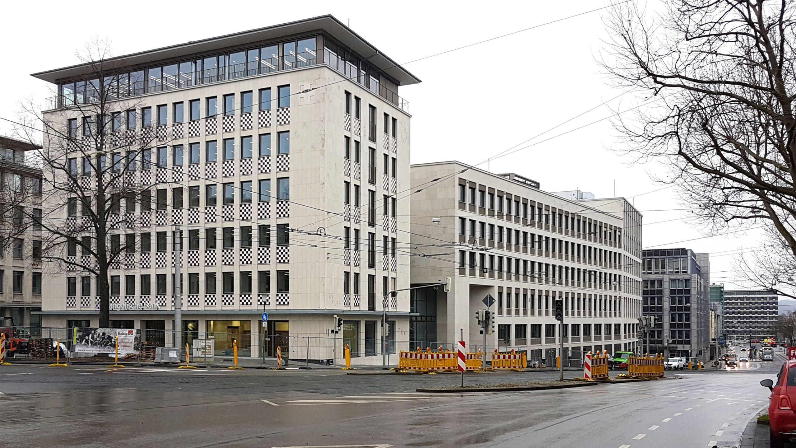 Außenansicht Evangelische Bank Kassel