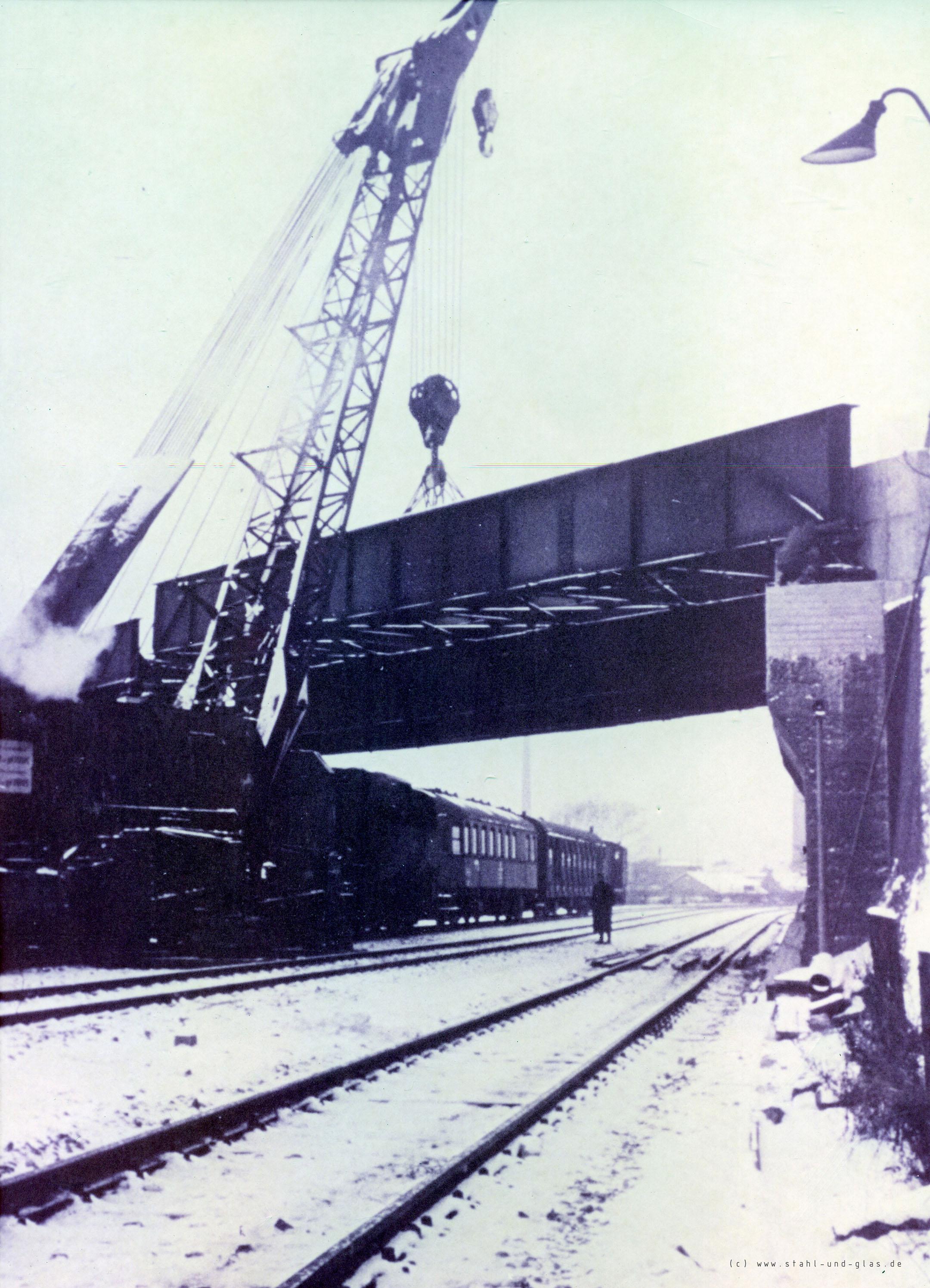 Deutsche Bahn historisch Stahlbau Industrie