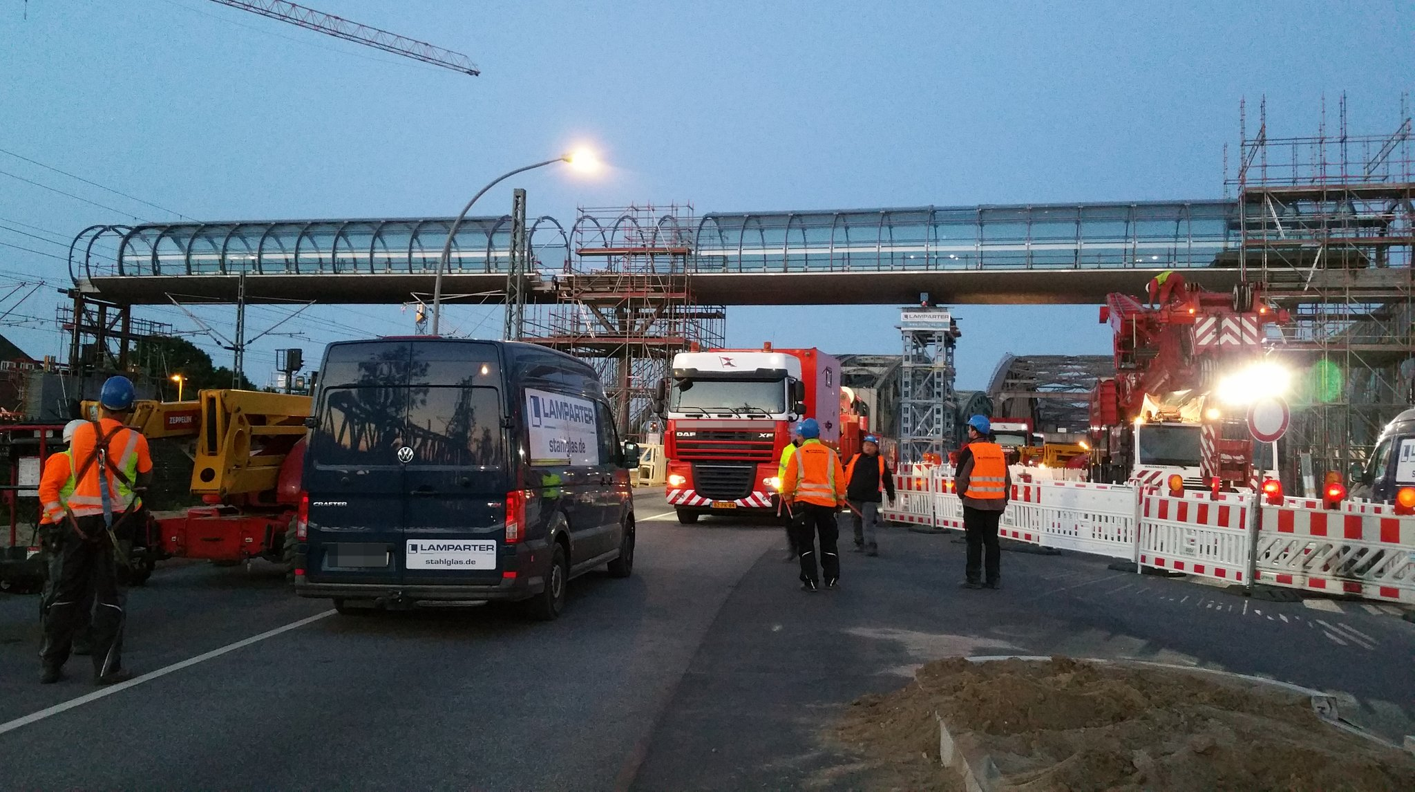 Brücke Elbbrücken Hamburg