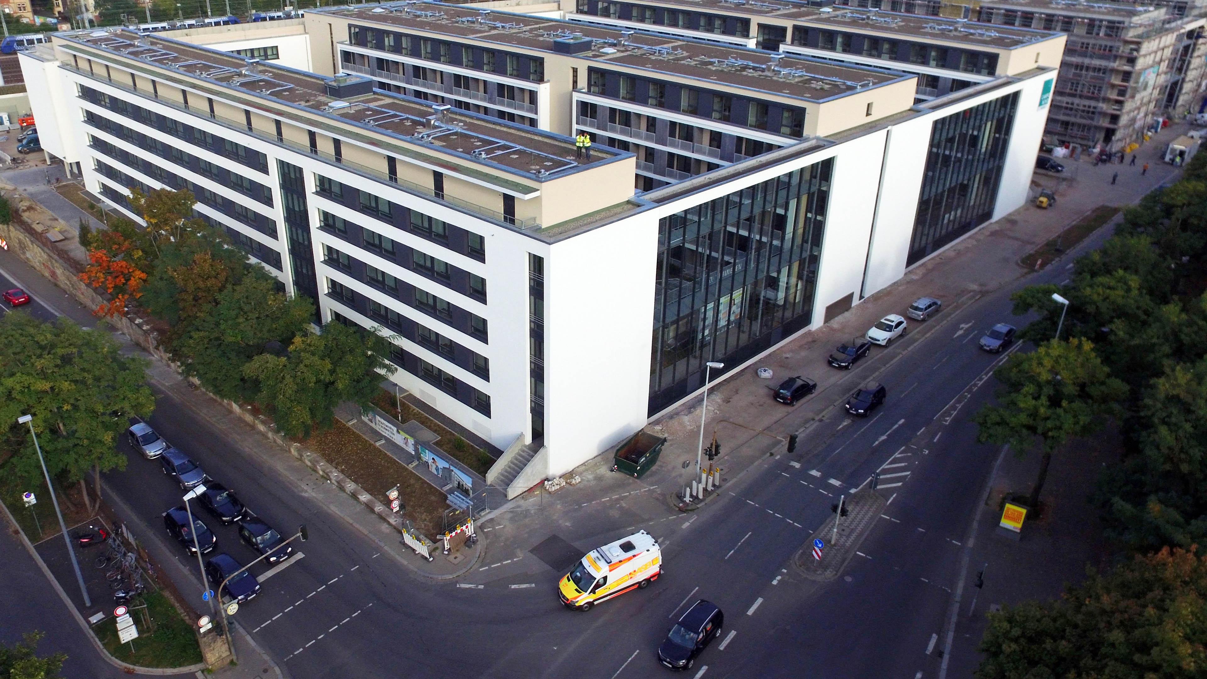 Glasfassaden als Schallschutz in Mainz