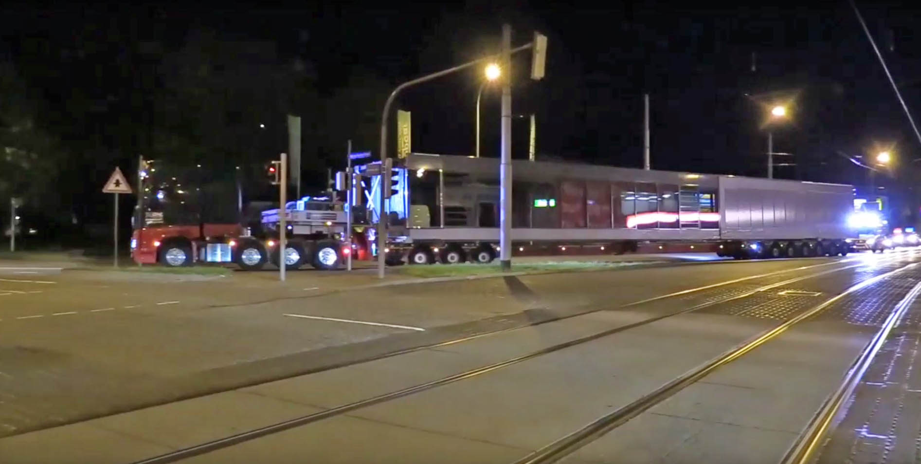 Transport Verbindungsbrücke