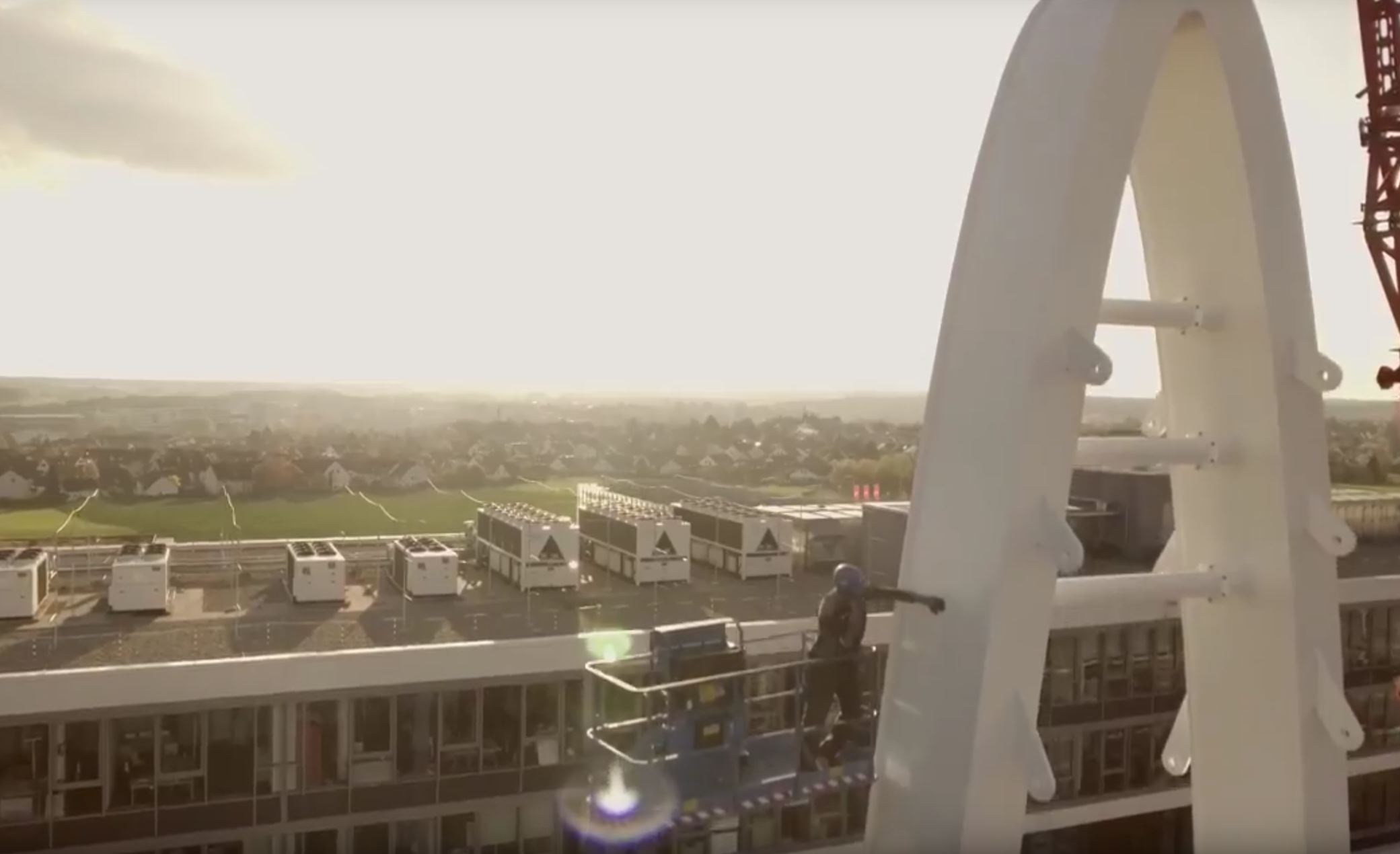 Verbindungsbrücke Puma Screenshot des Puma-Videos