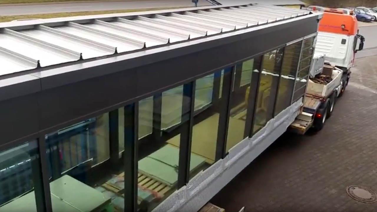 Verbindungsbrücke Düsseldorf Video